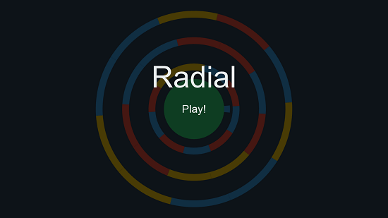 Radial  main screen