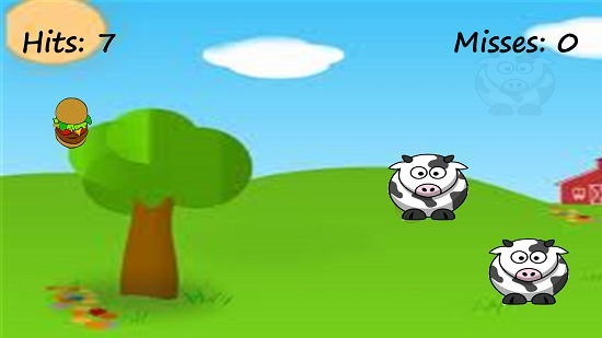 Cow Smash gameplay