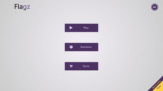 Flagz main screen