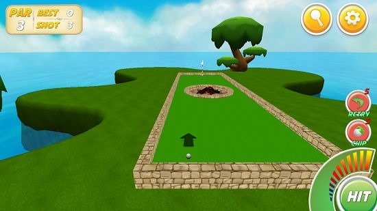 Mini Golf Stars 2 gameplay