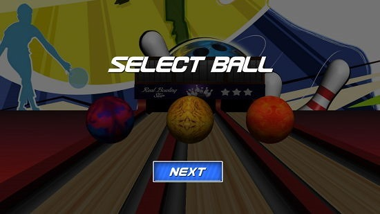 Real Bowling Star select ball