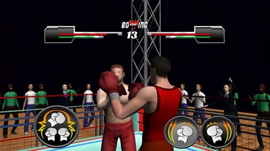 Smart Boxing 3D select gameplay