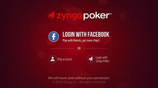 Zynga Poker Login