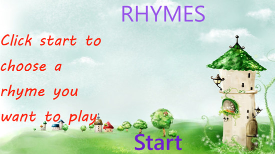 Learn Rhymes for Windows