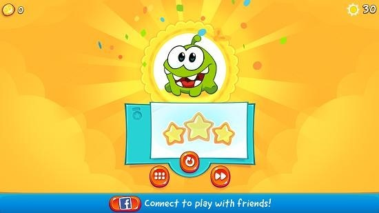 Cut The Rope 2 level complete