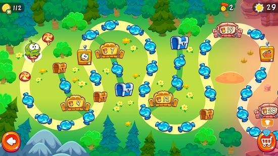 Cut The Rope 2 level selection