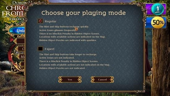 Demon Hunter Choose Game Mode