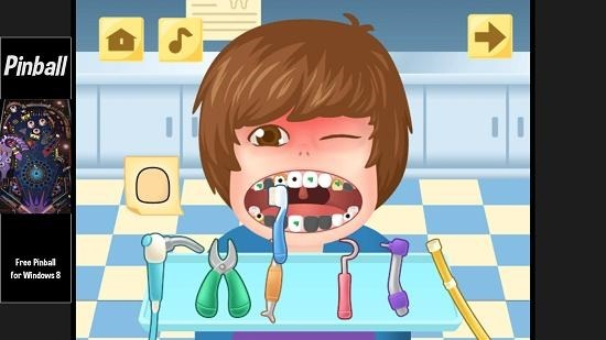 Little Big Dentist gameplay