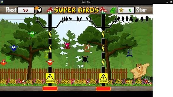 Super Birds red bird safe