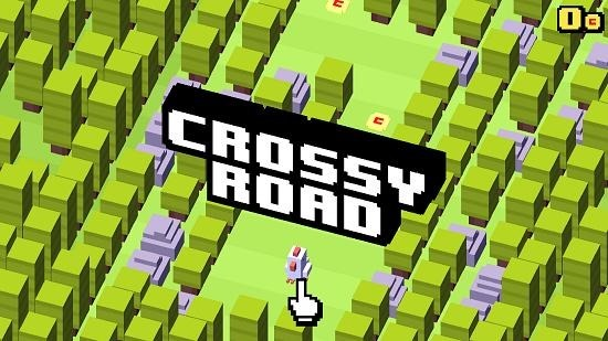 Crossy Road Main Screen