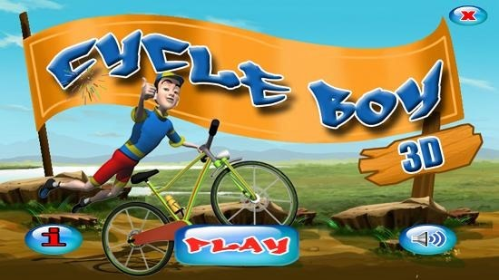 CycleBoy3D Main Screen