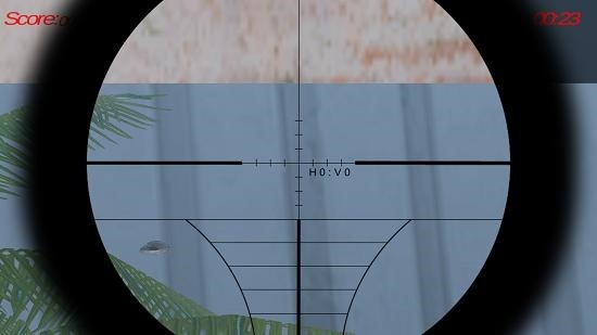 Sniper Shooter Simulator bullet hole