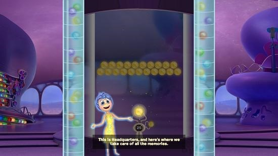 Inside out thought bubbles main screen