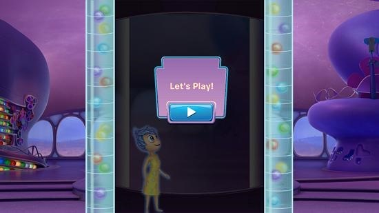 Inside out thought bubbles start gameplay
