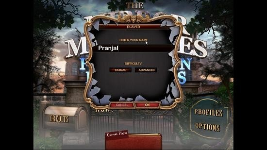 Mirror Mysteries The Forgotten Kingdoms main screen