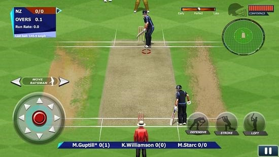 Real Cricket 15 gameplay