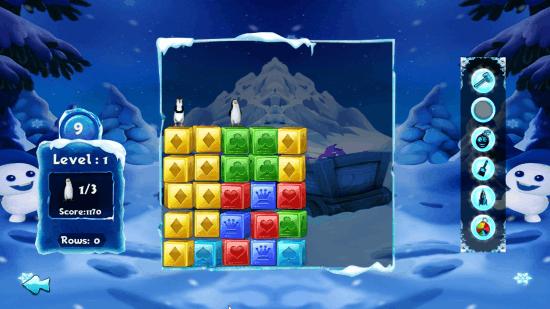 Free Puzzle Game for Windows 8: Penguin Rescue