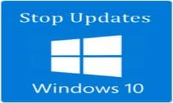Остановить обновление windows 10