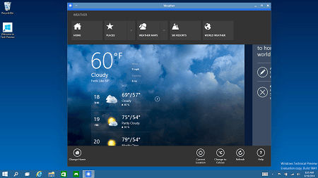 Top 5 New Features Of Windows10