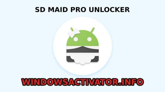 SD Maid Pro Unlocker feature