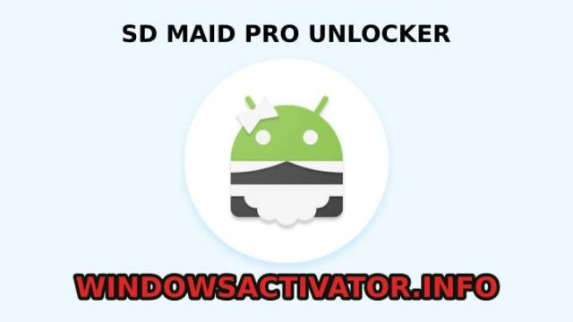 SD Maid Pro Unlocker feature