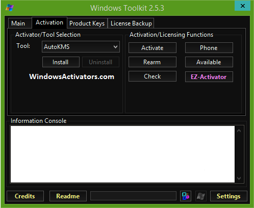 windows toolkit
