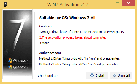 Windows 7 Ultimate Activator - win7 activator