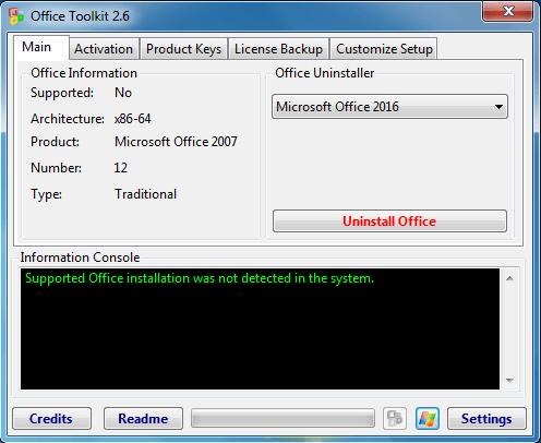 Microsoft Toolkit v2.6