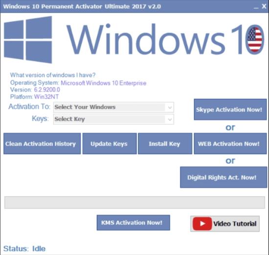 windows 10 permanent activator 2019