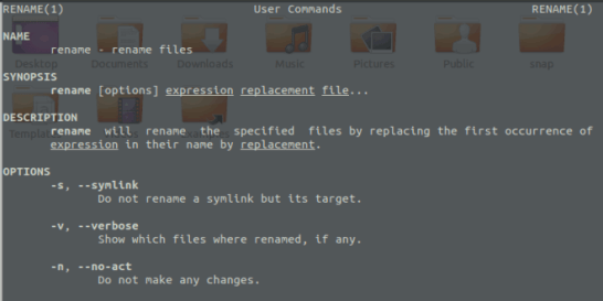 How to Rename Files in Linux