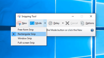 How to Use Snipping Tool to Take a Screenshot on windows