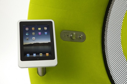 Conectar iPad o iPhone 4s en el Sonic Chair