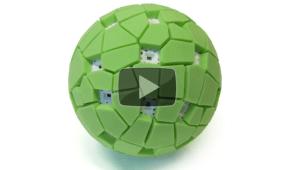 pelota que toma fotos panorámicas