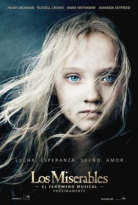 Los Miserables de Victor Hugo en la pantalla gigante en diciembre del 2012