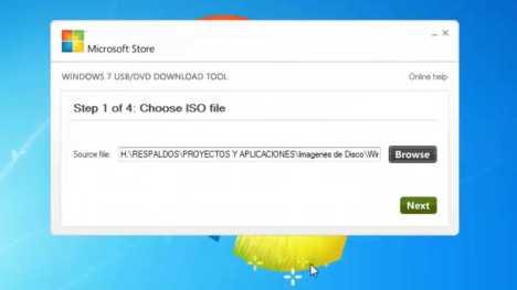 Descarga herramienta para transferir imagen ISO a pendrive USB