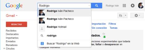 busquedas en Gmail