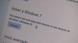 Cómo Volver a Windows 7