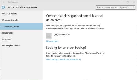 Cómo volver a Windows 7 después de actualizar a Windows 10