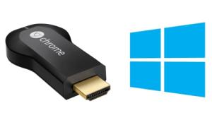 Windows 10 al ChromeCast