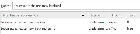 Acelerar Firefox cambiando la cache