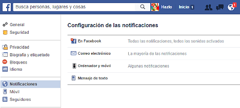 desactivar notificaciones de Video Live