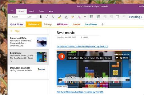 Microsoft OneNote trucos