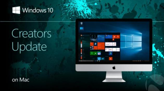 Windows 10 Creators en Mac