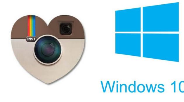 Truco Instagram con Windows 10