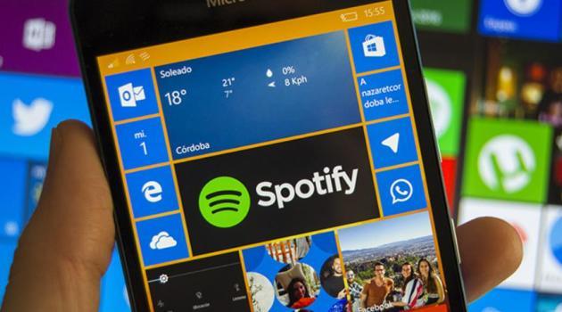 Spotify para Windows 10