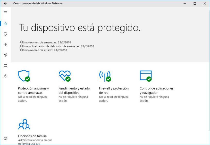 error de descarga con Windows Defender