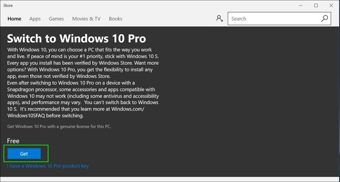 Truco para Actualizar a Windows 10 Pro