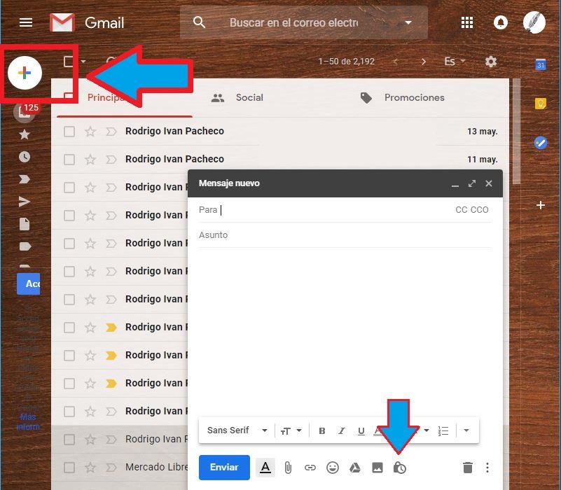 Activar Modo Confidencial en Gmail