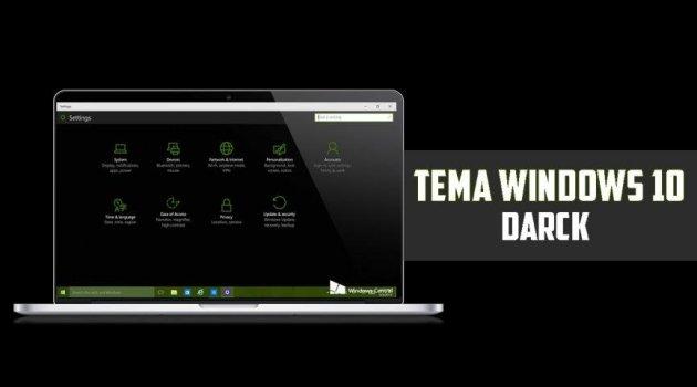Windows 10 Negro