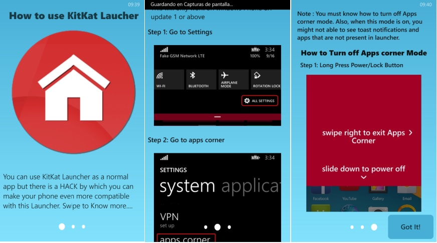 launcher Android en Windows Phone